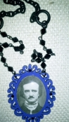 Hand-Crafted Poe Cameo Necklace