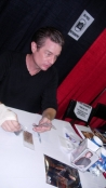"Presenting ""Steampunker"" and other pieces to James Marsters"