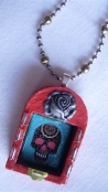 """Day of the Dead"" Shrine Necklace"