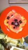 O'Keeffe Flower Plate