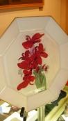 O' Keeffe Flower Plate